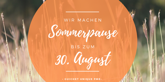 Sommerpause 2020 - Home